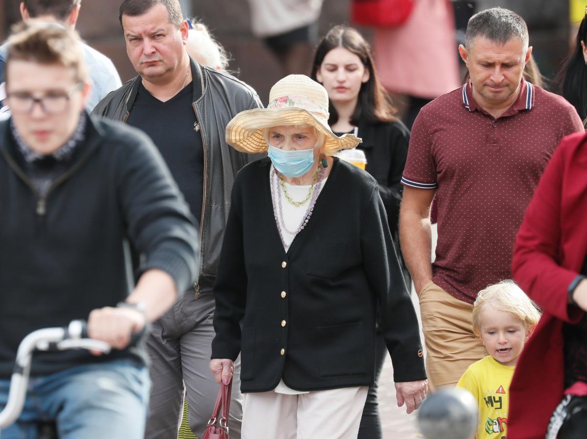 Население Украины в 2020 году ощутимо сократилось: данные Госстата