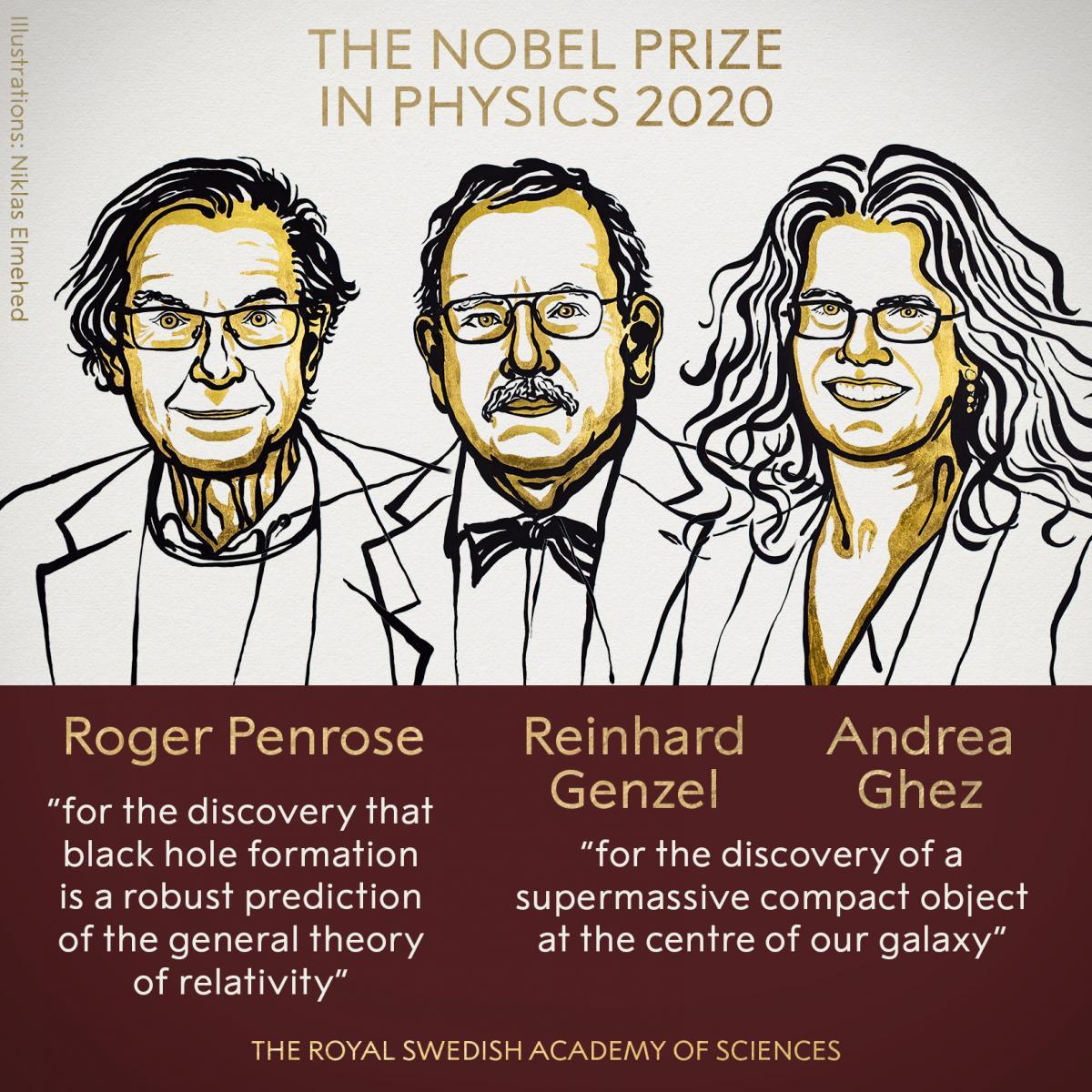 Нобелевская премия по физике 2020 / фото Nobel Media