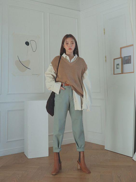 Модный жилет / фото pinterest.com