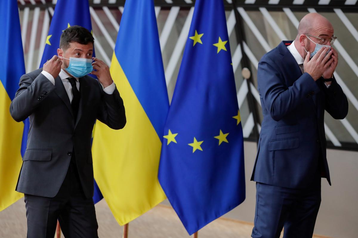 Зеленский посетил саммит Украина-ЕС / фото REUTERS