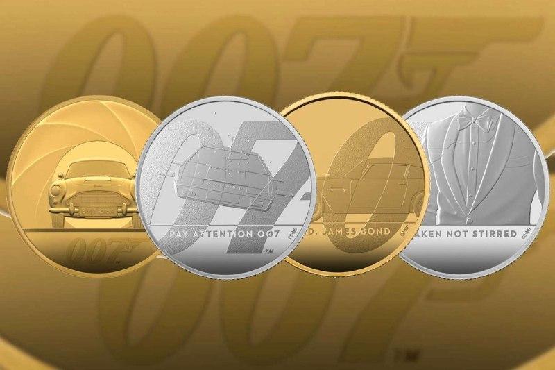 В Великобритании появились новые монеты в честь Джеймса Бонда / фото standard.co.uk