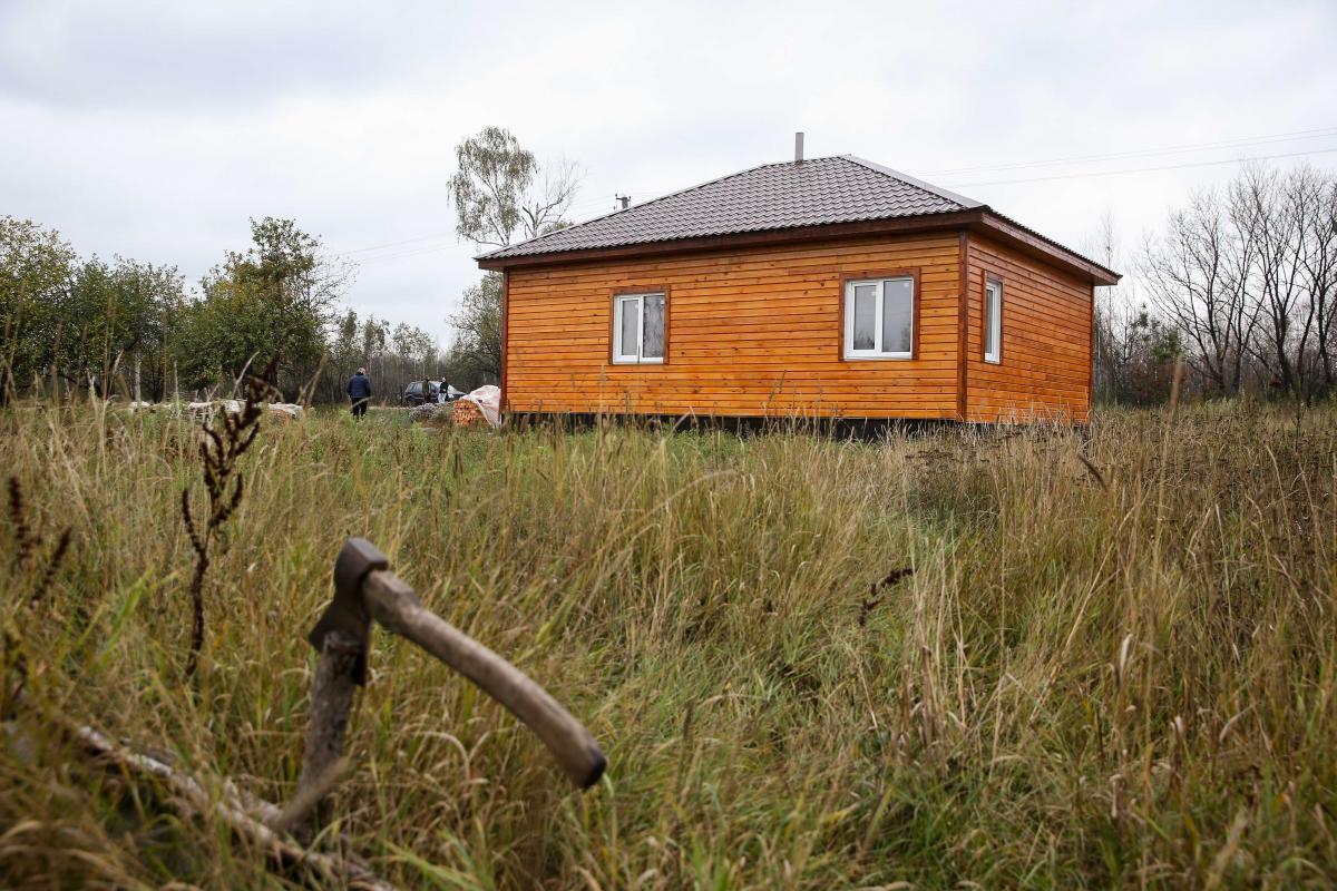 строительная компания построила дом в Магдине не дожидаясь тендера, в итоге он пустует / фото Вячеслав Ратынский