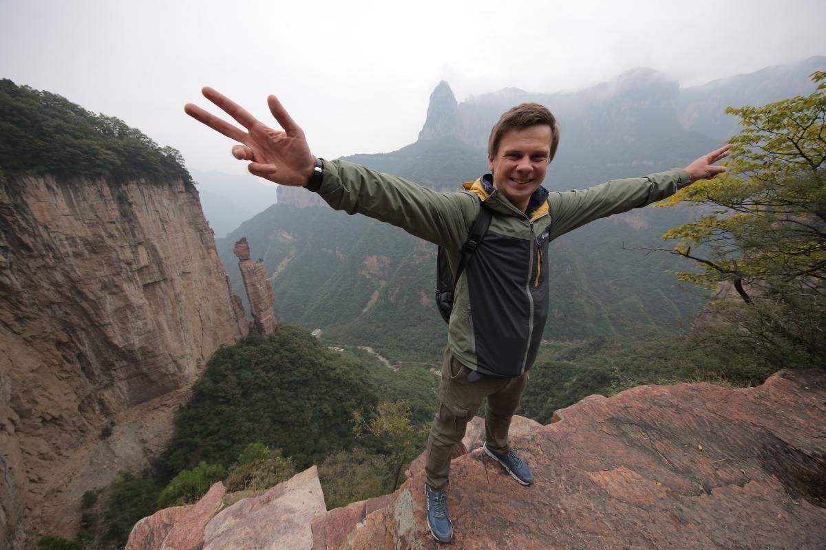 Дмитрий Комаров в Китае / фото пресс-службы 1 + 1