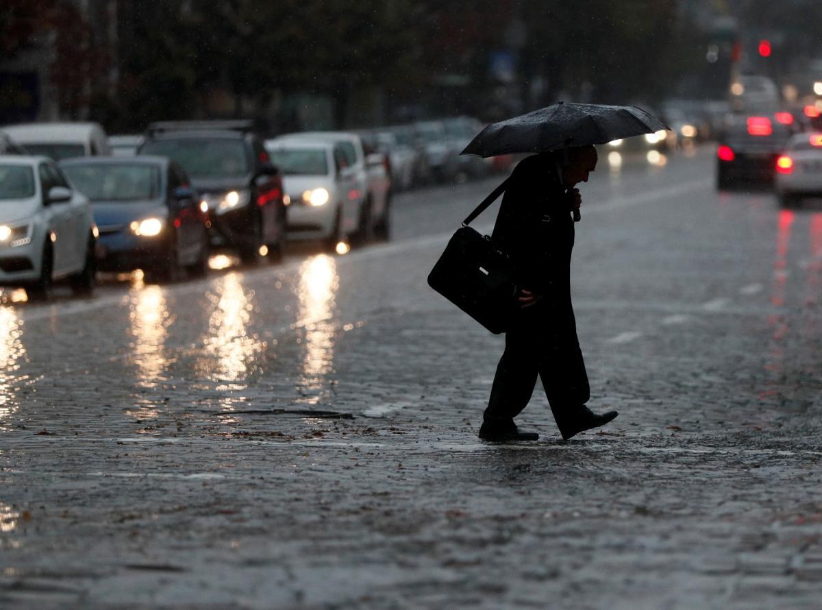 У Києві очікується невеликий дощ / Фото REUTERS