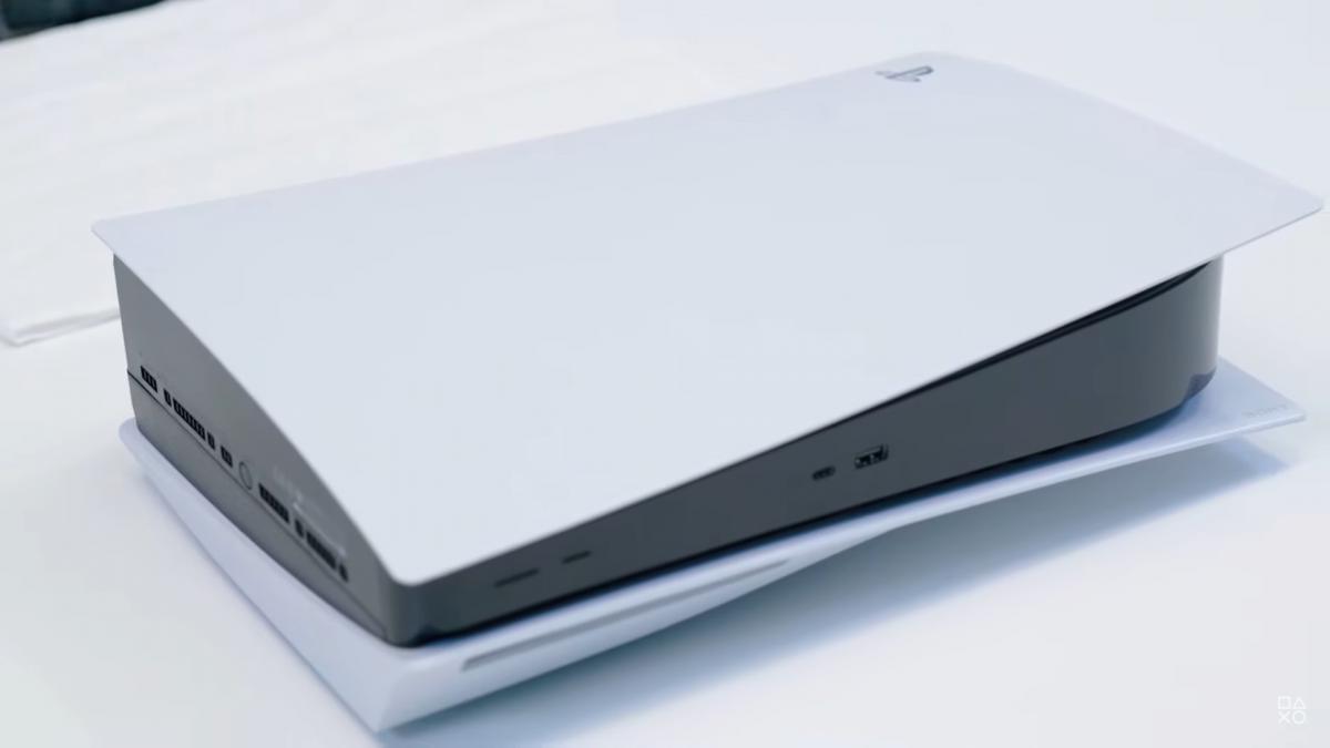 Внешний вид PlayStation 5 /скриншот