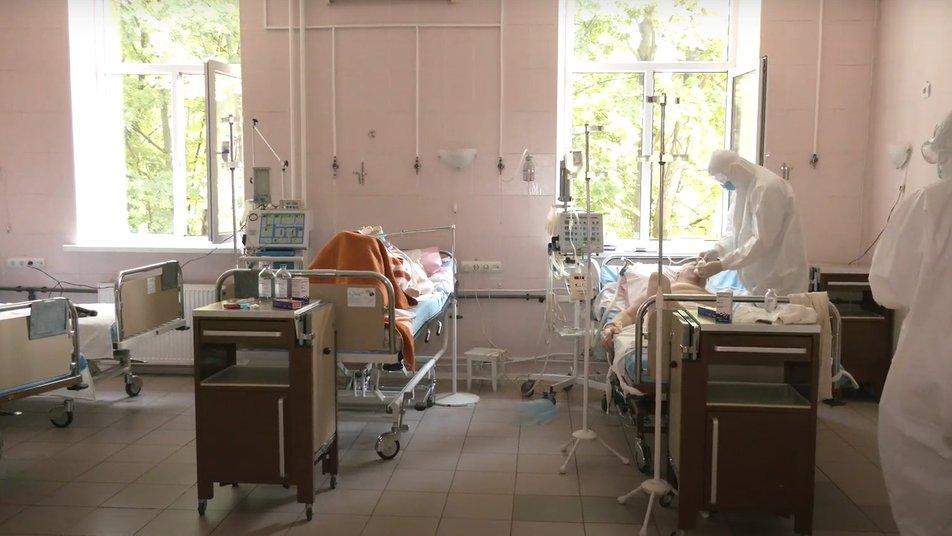 В городских больницах Харькова все меньше мест для COVID-больных / фото Общественное