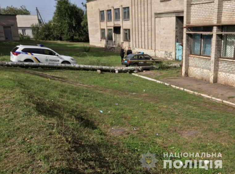 В Каменском тяжело ранили полицейского / Нацполиция
