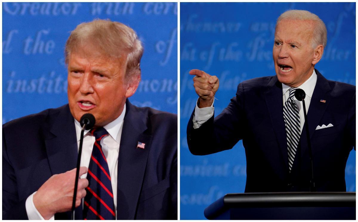 Трамп и Байден сдали негативные тесты на коронавирус / фото REUTERS