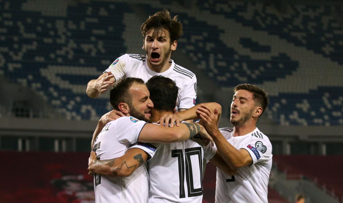 Сборная Грузии может стать соперником Украины на Евро-2020 / фото REUTERS