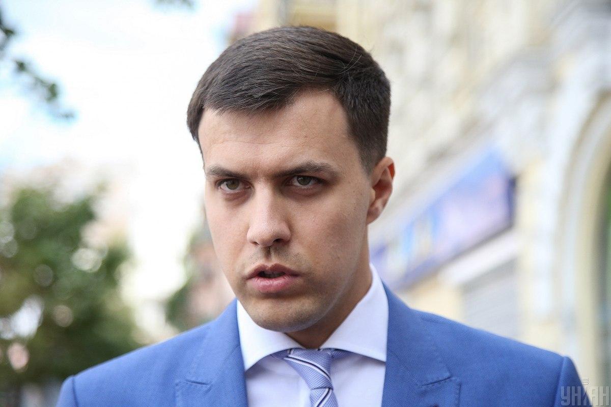 Глава Киевской городской партийной организации Виталий Нестор / фото УНИАН, Вячеслав Ратинский