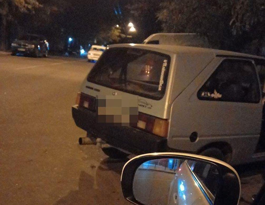 Водитель признал вину / фото Управление патрульной полиции в Одесской области