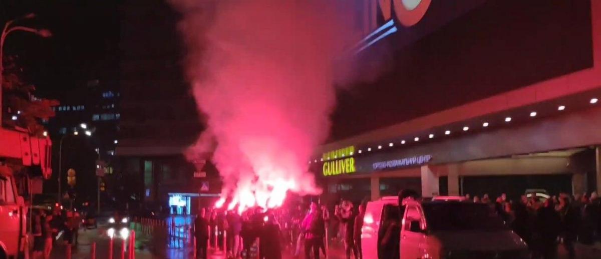 Нацкорпус против ЛГБТ в Киеве / фото скриншот