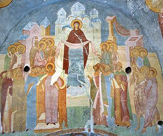 Икона Покрова Богородицы значение / фото Wikipedia