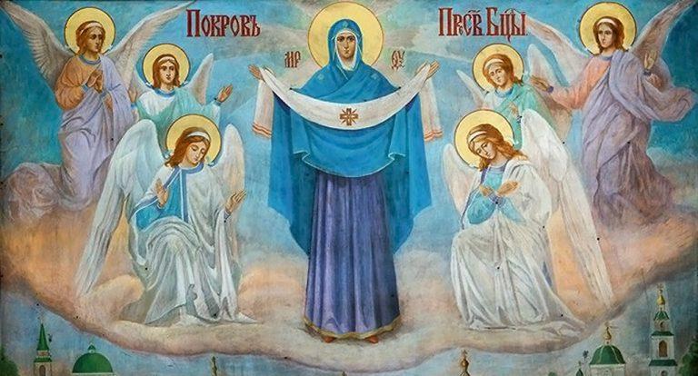 Икона Покрова Богоматери / фото Wikipedia