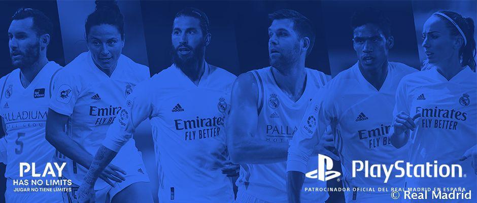 Партнерство з PlayStation торкнеться чоловічих та жіночих командклубу / фото realmadrid.com