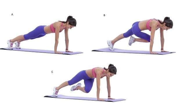 Упражнения для похудения живота и талии / фото cross.expert