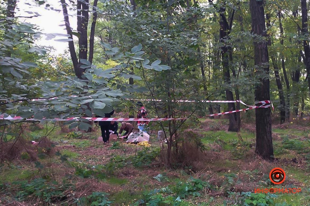 Дніпро - у посадці знайшли понівечене тіло молодої жінки: фото з місця події/ dp.informator.ua