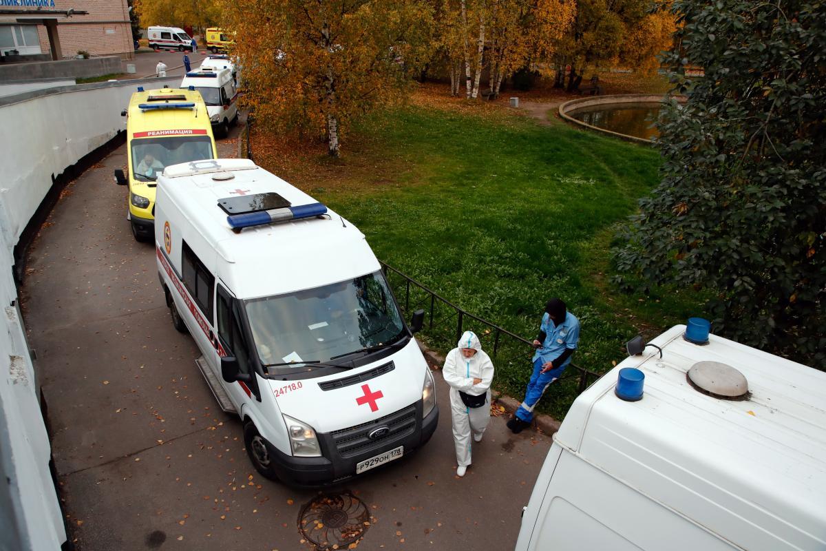 В Харькове катастрофическая ситуация с инфицированными коронавирусом / фото REUTERS
