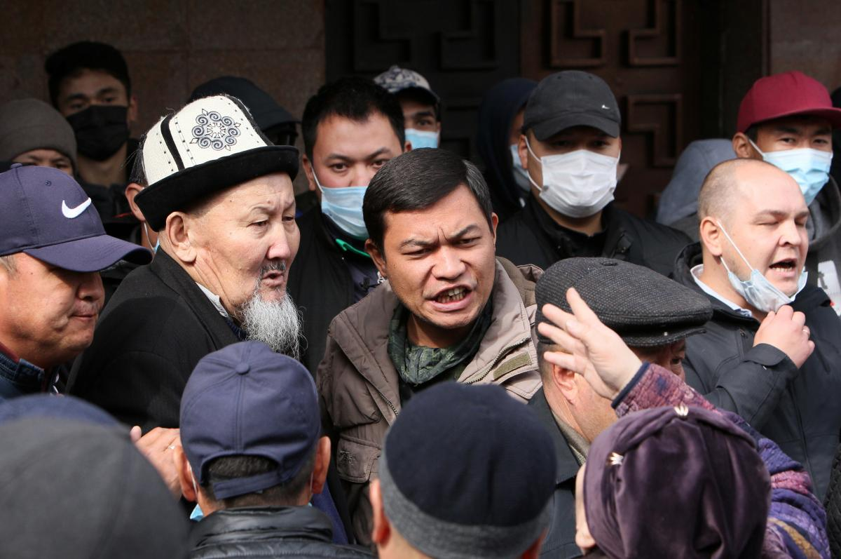 Садыр Жапаров стал новым премьер-министром Кыргызстана / фото REUTERS