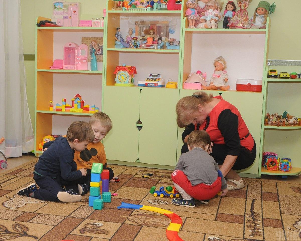 В Украине детсады будут работать в обычном режиме / фото УНИАН / Иванов Алексей