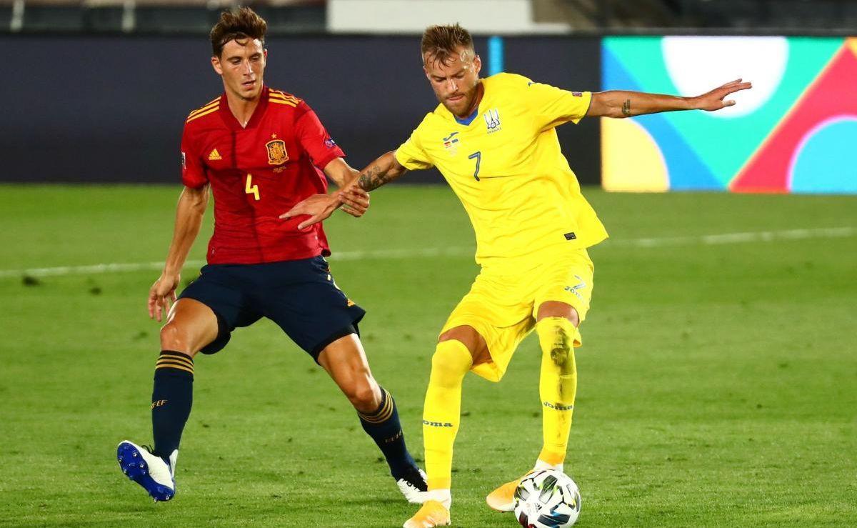 В первом круге Украина крупно проиграла Испании / фото REUTERS