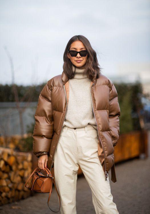 Как носить пуховик осень 2020 / фото Vogue