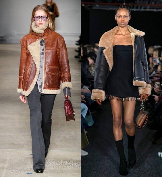 Дубленки осень-зима 2020-2021 / фото Vogue