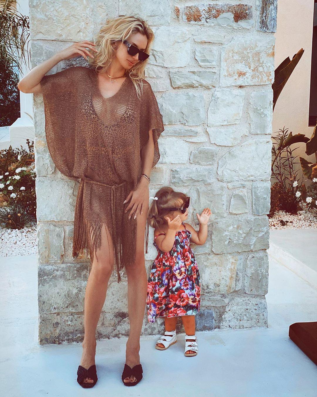 Лобода с младшей дочкой Тильдой / фото instagram.com/lobodaofficial