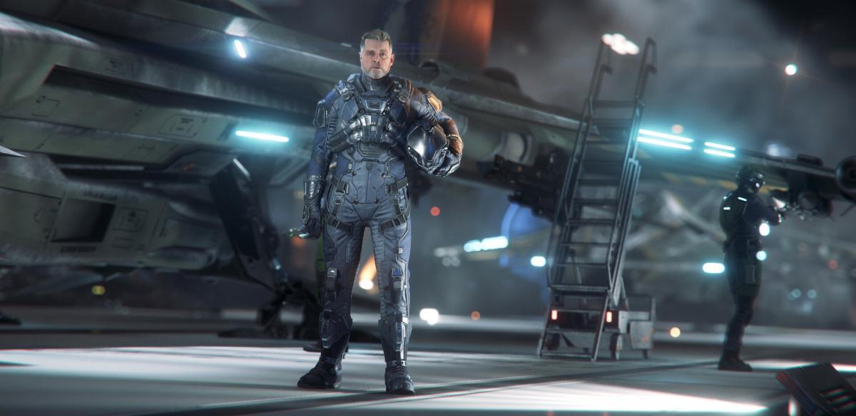Одну з ролей в Squadron 42 зіграв Марк Хемілл / фото Cloud Imperium Games