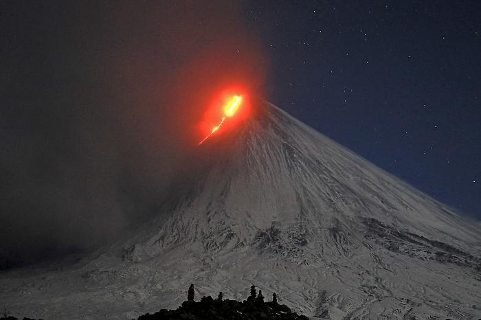 Последний раз вулкан извергался около двух месяцев назад / Фото Ю.Демянчук