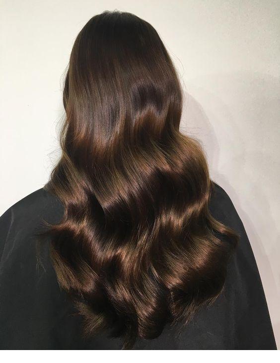 Советы для длинных волос / фото pinterest.com