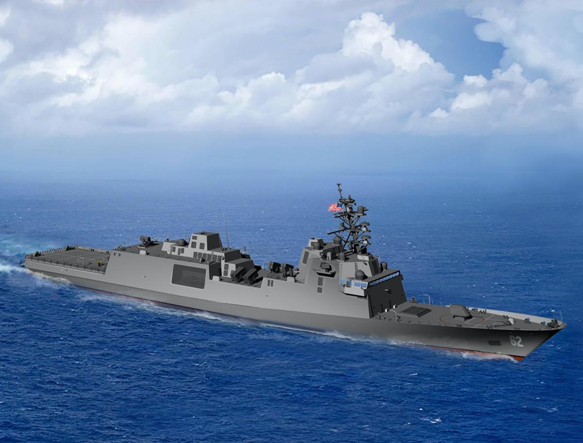 Новый фрегат ВМС США получил имя/Fincantieri Image