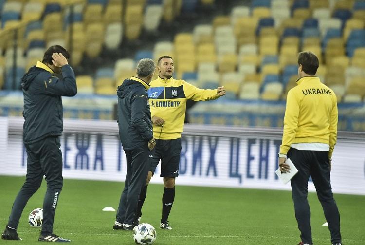 Шевченко включил в заявку Безуса / фото УАФ