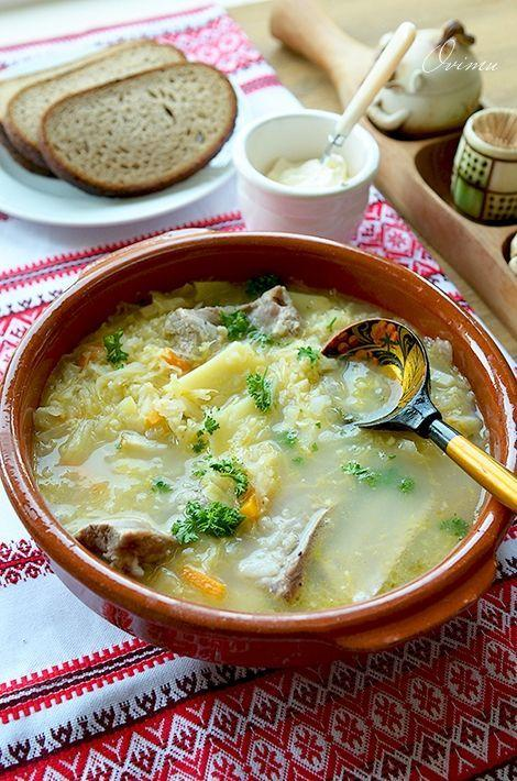 Рецепт украинского капустняка / фото pinterest.com