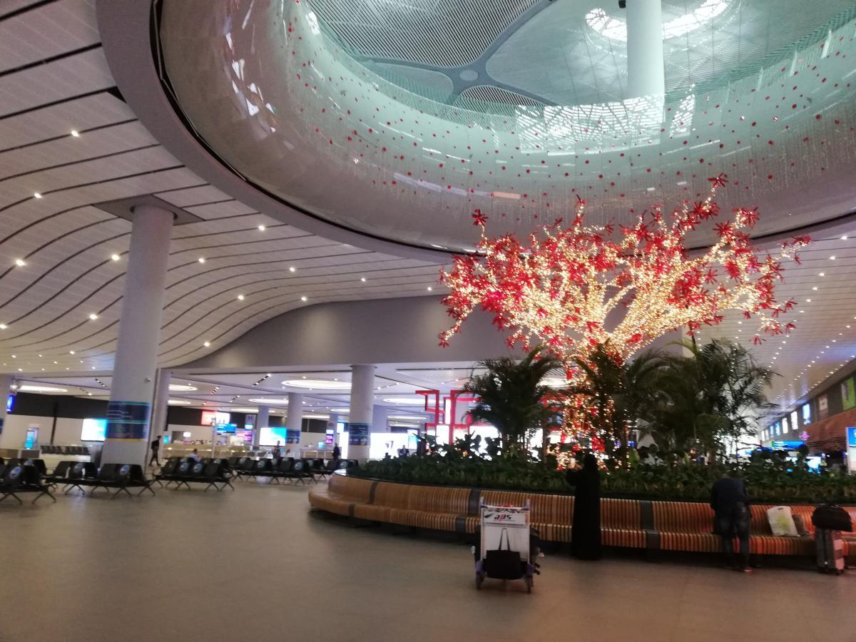 Новый аэропорт Стамбула просто поражает / фото Марина Григоренко