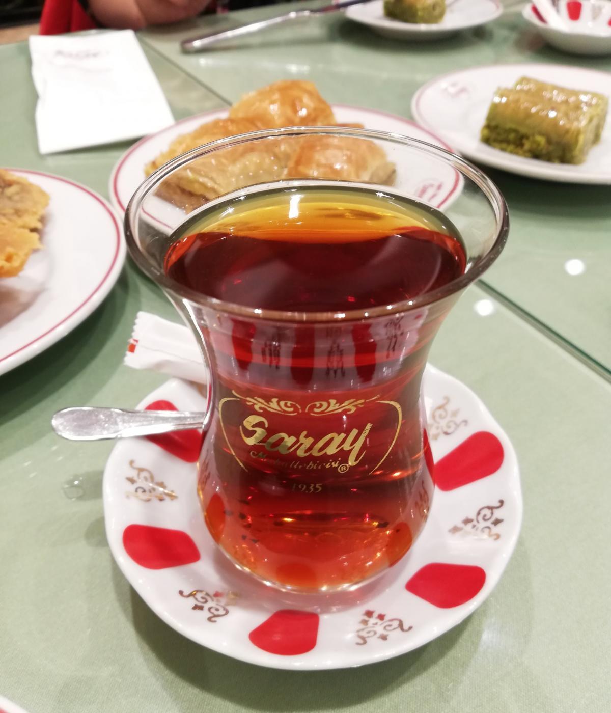 Турецкий чай - это отдельная любовь / фото Марина Григоренко