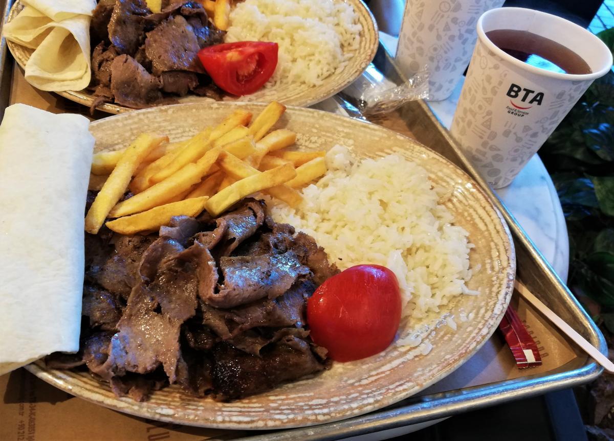 Классический Döner Kebab / фото Марина Григоренко