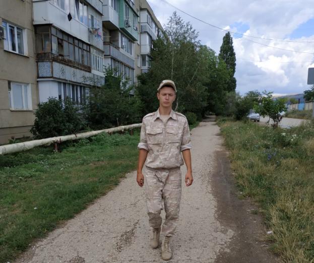В Крыму убили солдата/ Алена Боровских, Facebook