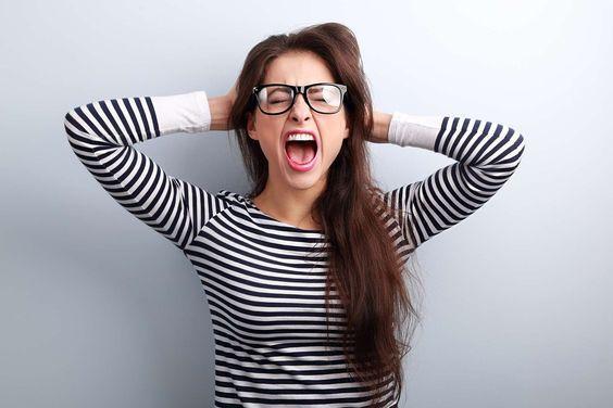 Симптомы стресса/ фото pinterest.com