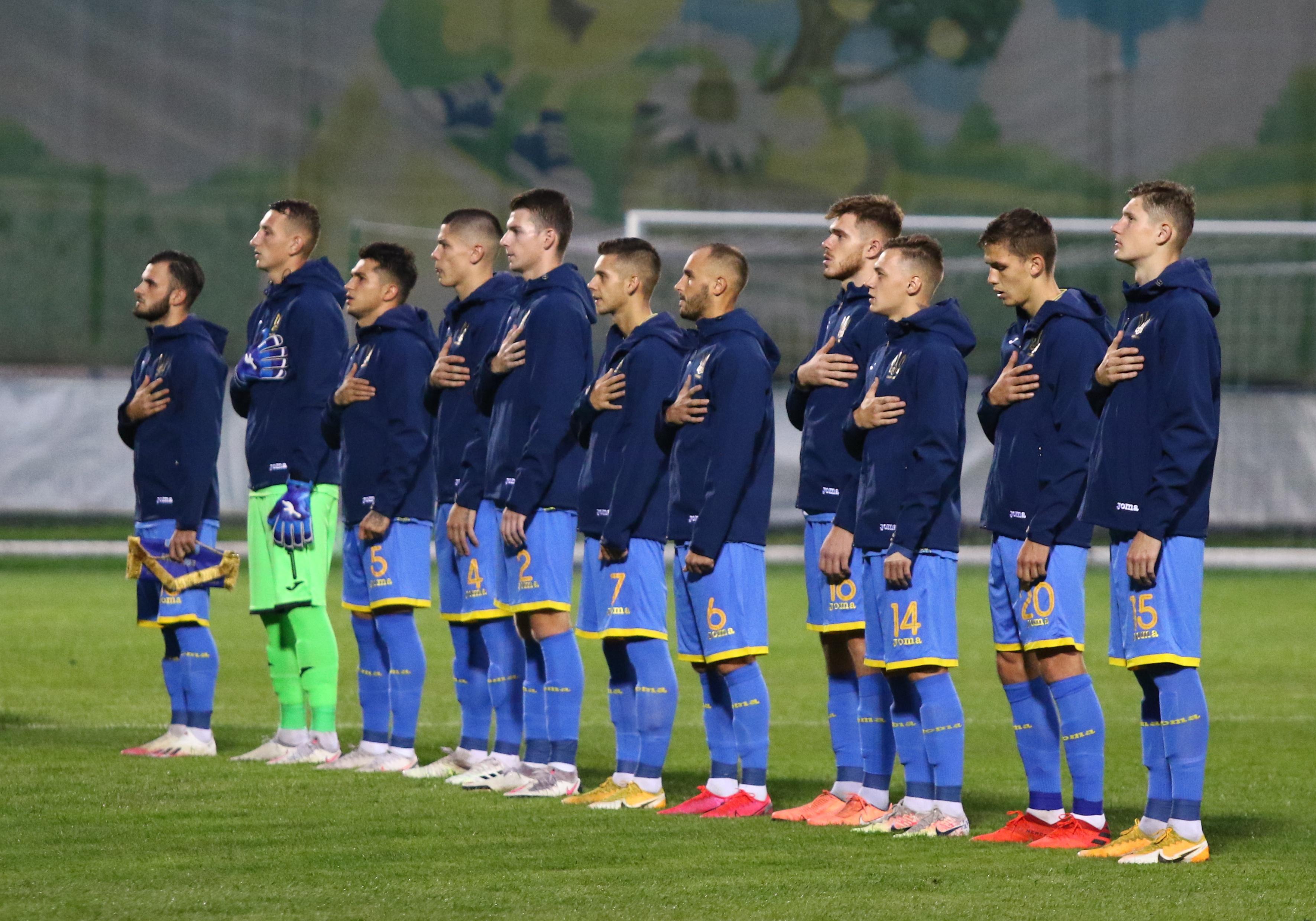 Молодіжна збірна України остаточно відстала від Данії та Румунії / фото УАФ