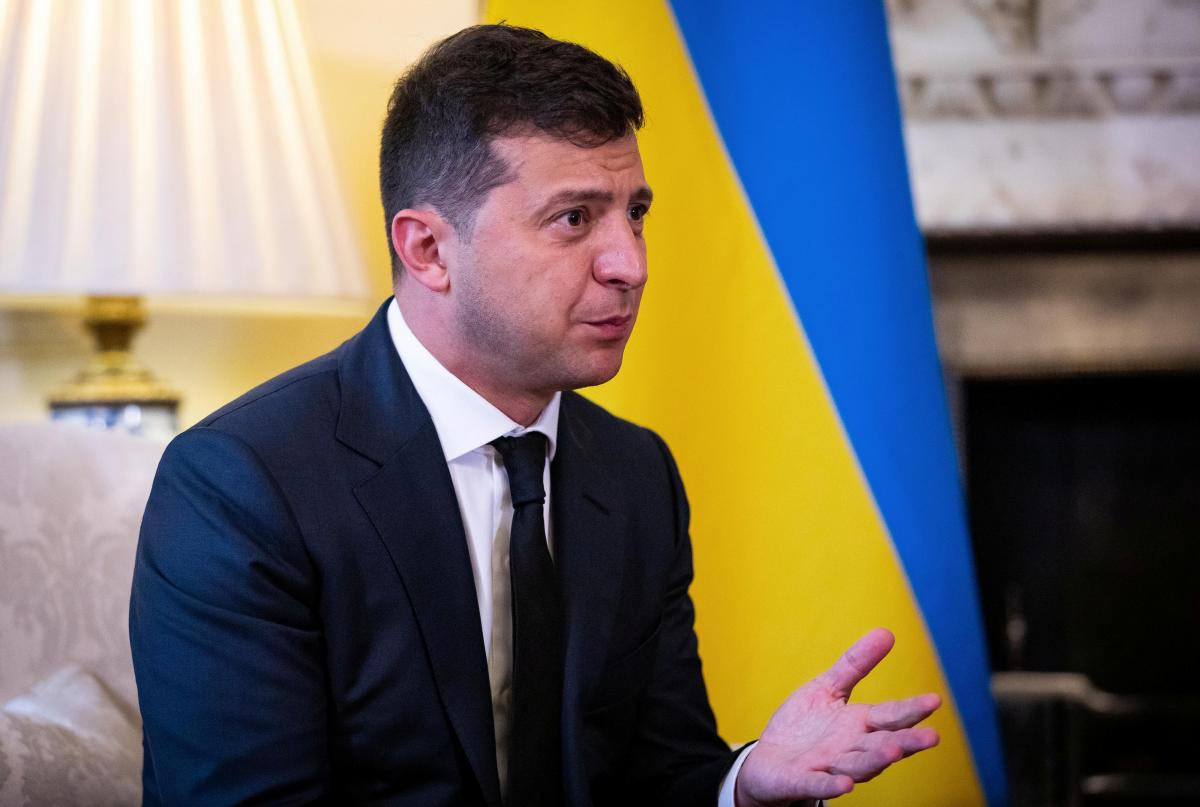 Ukrainian President Volodymyr Zelensky / REUTERS