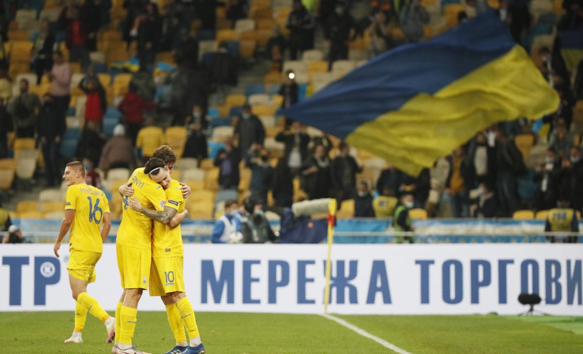 Збірна України - герої ігрового дня / фото REUTERS