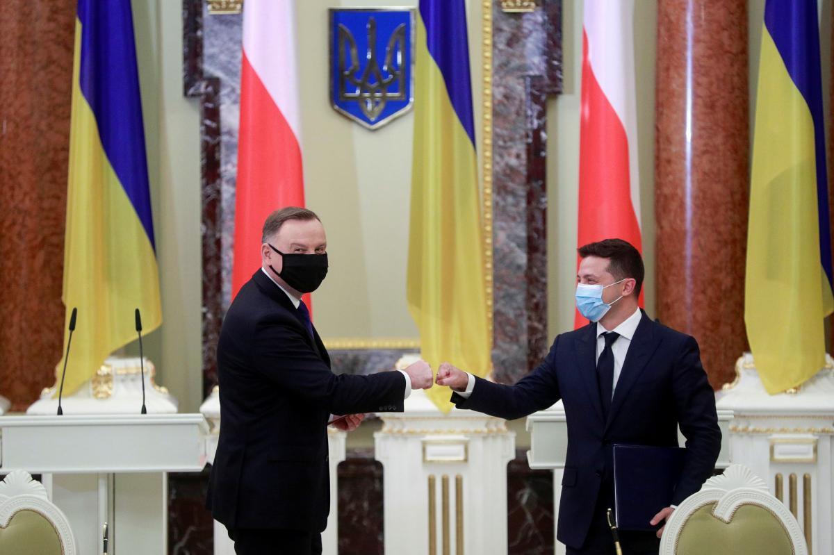 Зеленский посетит 3 мая Польшу для встречи с Дудой / фото REUTERS