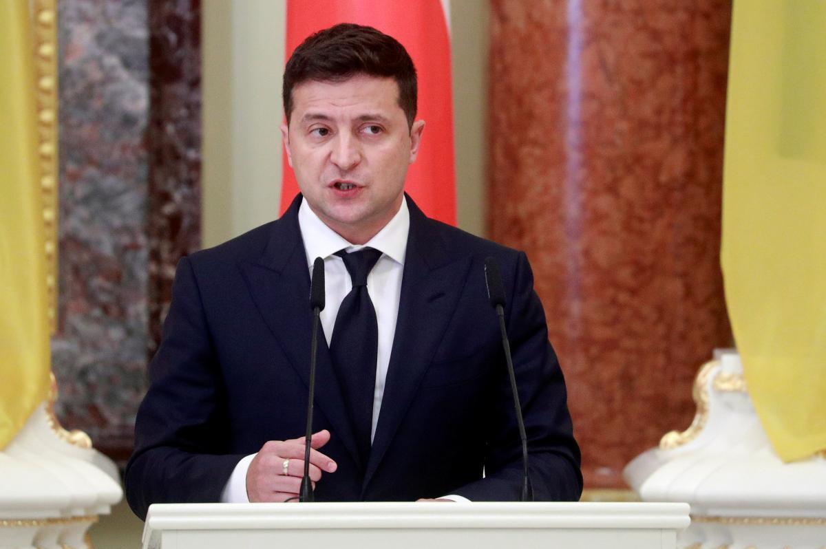 Зеленский хочет, чтобы Украину приглашали в Евросоюз / фото REUTERS