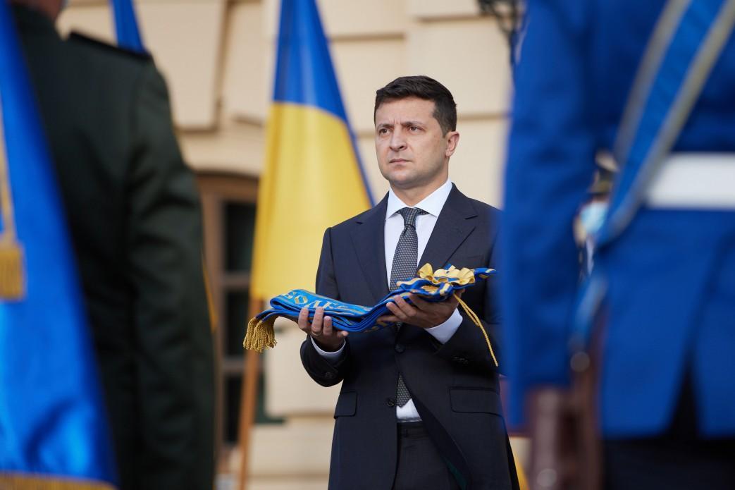 Зеленский пообещал заботиться о войске после наступления мира / фото president.gov.ua