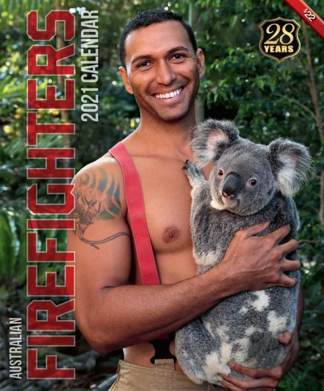 Календарь на 2021 год с австралийским пожарными / фото australianfirefighterscalendar.com