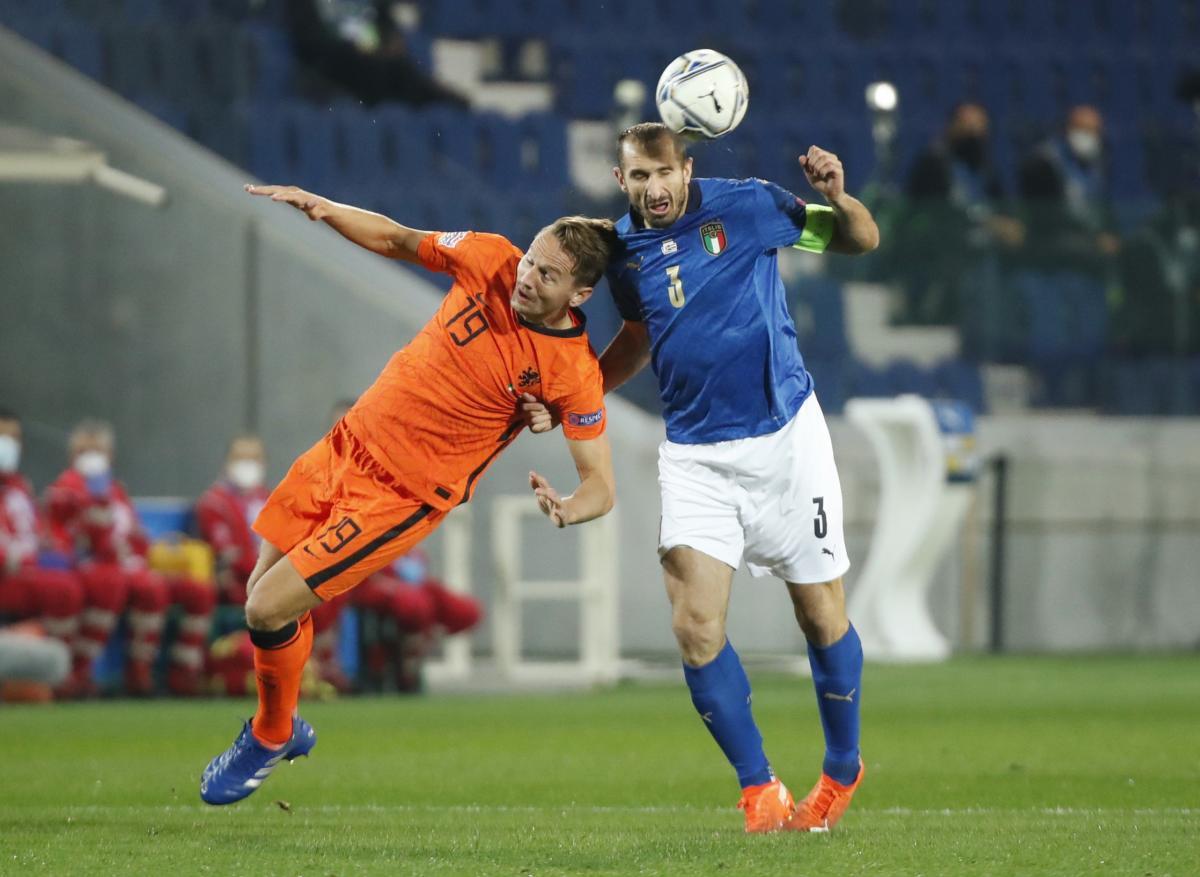 Италия - Нидерланды / фото REUTERS