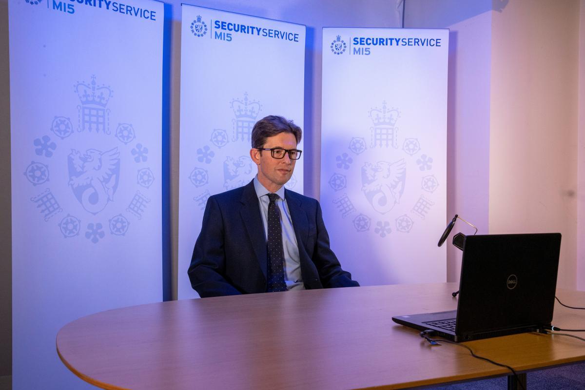 Глава британской службы контрразведки Кен МакКаллен / фото REUTERS