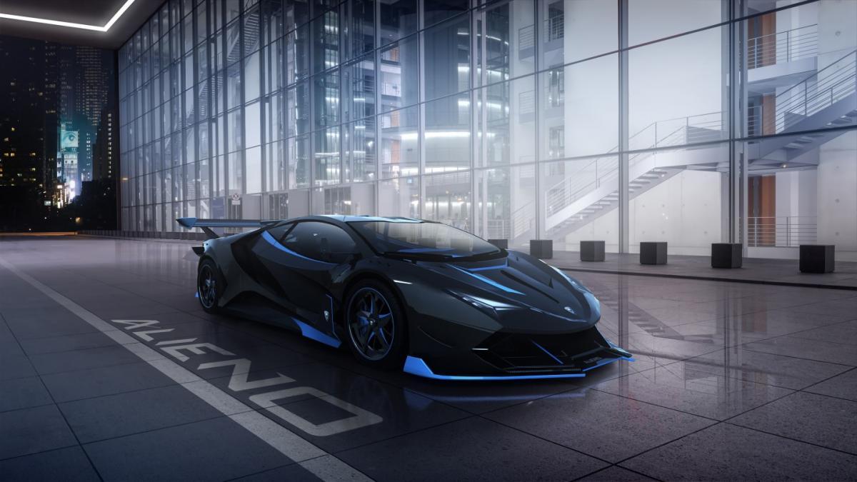 Arcanum очень похож на Lamborghini Veneno / фото alienohypercars.com