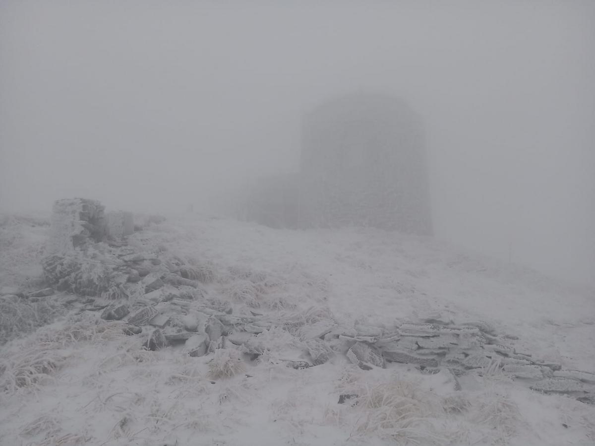 Карпати засипало снігом / Фото facebook.com/chornogora.rescue112